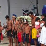 Tribo de índios Mbyá-Guarani