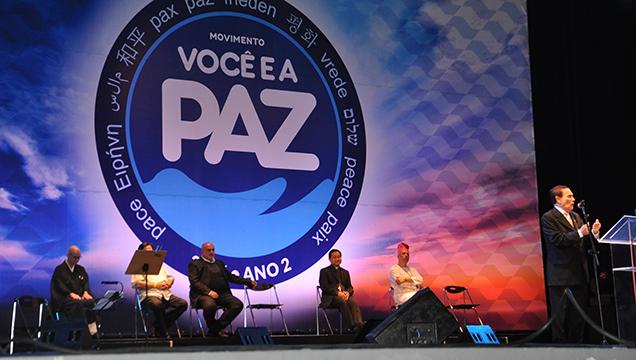 Movimento Você e a Paz São Paulo 2016
